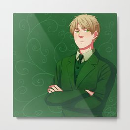 APH England in Emerald Metal Print