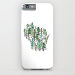 Wisconsin Forest iPhone Case