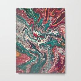 Let it Flow 1 Metal Print