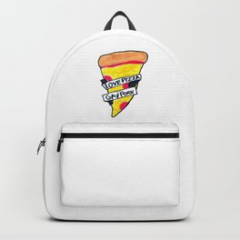 love pizza and gay porn Backpack