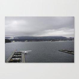 Seaplane and Stanley Park Canvas Print