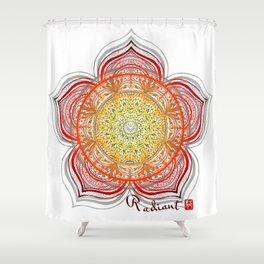 Mandala - Radiant Shower Curtain