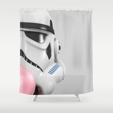Stormtrooper Bubble Gum 02 Shower Curtain