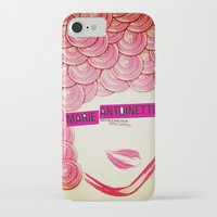 marie antoinette iPhone & iPod Cases featuring Marie Antoinette by Linda Hordijk