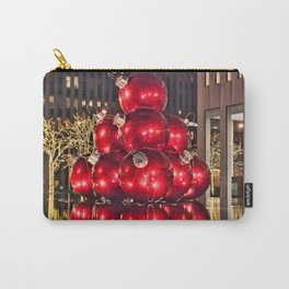 Christmas On 5th Avenue Manhattan 2 Carry-All Pouch