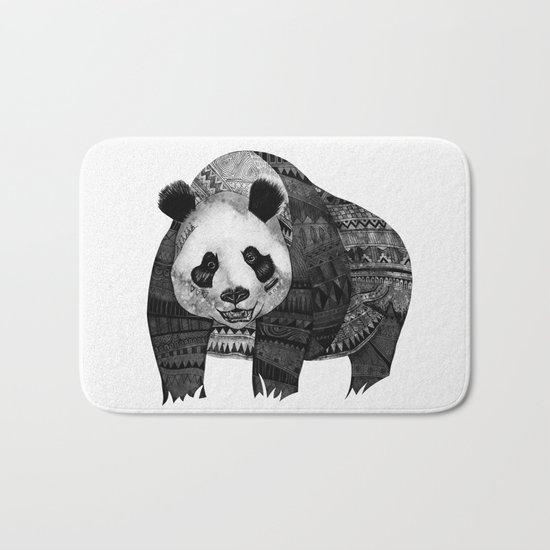 """Native Youth Panda""  Bath Mat"