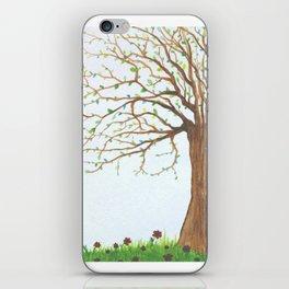 Wiley Tree  iPhone Skin