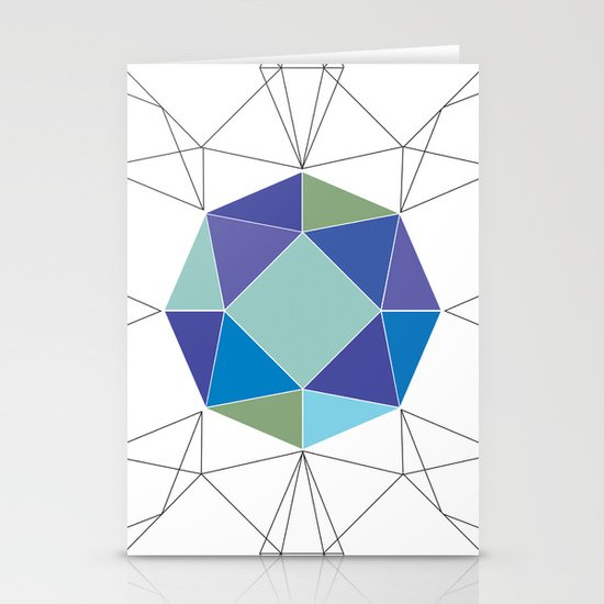 Diamonds are forever Stationery Cards