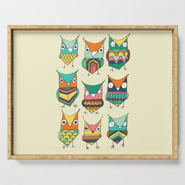 Give a hoot Serving Tray