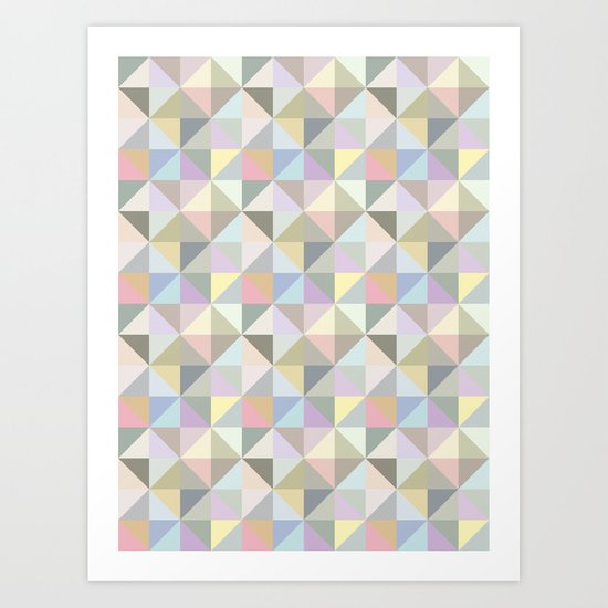 Shapes 003 Art Print