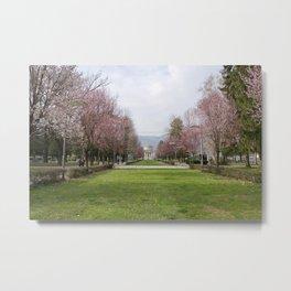 Lake Como in Springtime Metal Print