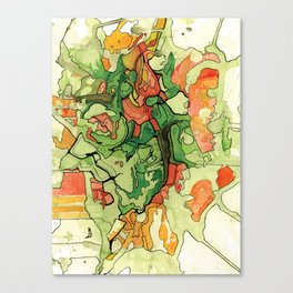 Mate' Cartography Canvas Print