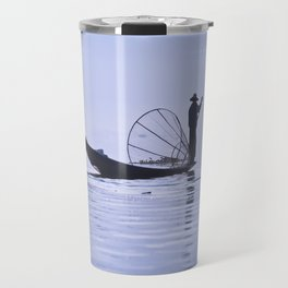 FISHERMAN AT INLE LAKE II Travel Mug