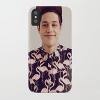 snl iPhone & iPod Cases featuring Flamingos by F*** Me Pete Davidson