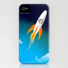 Rocket to the stars! Slim Case iPhone (4, 4s)