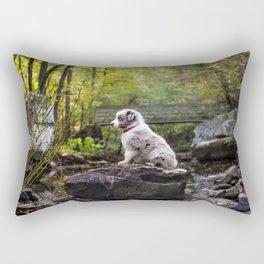 Rocky Hike Rectangular Pillow