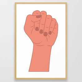 Female Power 6 Framed Art Print