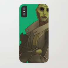 Not easy being green Slim Case iPhone X
