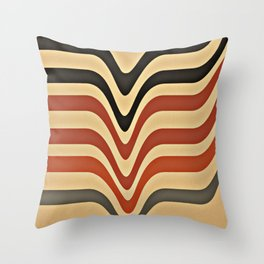 Between Waves Throw Pillow