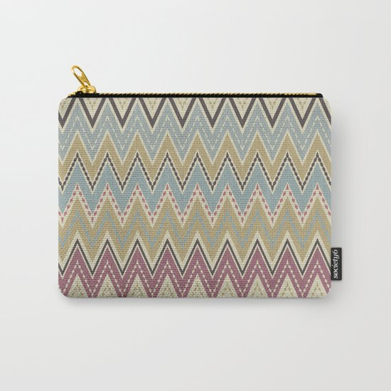 Ethnic patterns. Tribal pattern . Carry-All Pouch