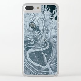 Frozen Lake Clear iPhone Case