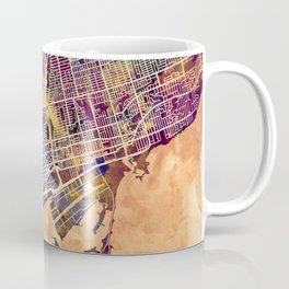 Toronto Canada Street Map Coffee Mug