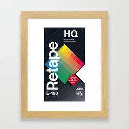 Brilliant – VHS Poster Framed Art Print