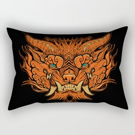 Foo Dog Rectangular Pillow