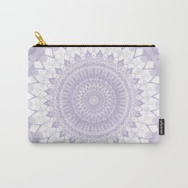 Boho Pastel Purple Mandala Carry-All Pouch