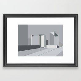 Berlin Perspectives - Karl-Liebknecht-Strasse / Memhardstrasse Framed Art Print