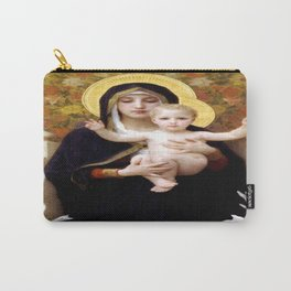 William-Adolphe Bouguereau's The Virgin of the Lilies Carry-All Pouch