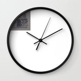 The Seven Fish Demigods of Eridu Wall Clock