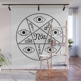 Five Eyes Wall Mural