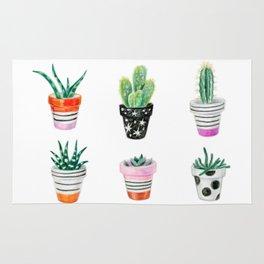 drawing cacti Rug
