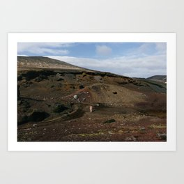 Valley (Iceland) Art Print