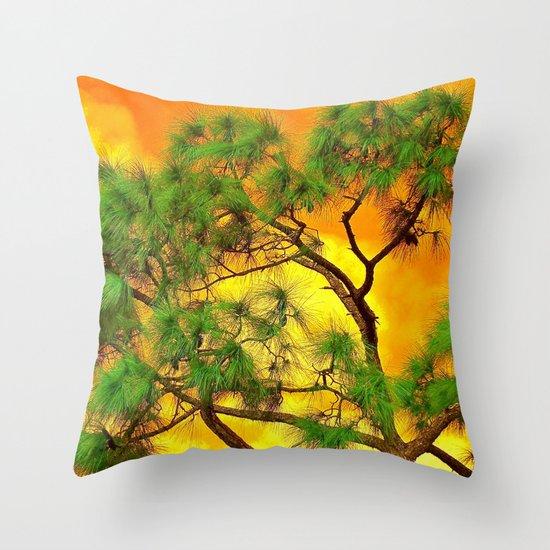art-tificial Throw Pillow