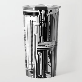 Abstract City #2 Travel Mug