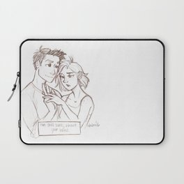 Sorry About Your Hand  Laptop Sleeve
