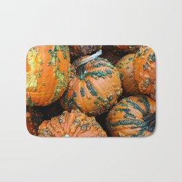 Nestled - Autumn Pumpkins Bath Mat