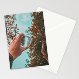 Lensball Stationery Cards
