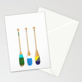 Painted Paddles Stationery Cards