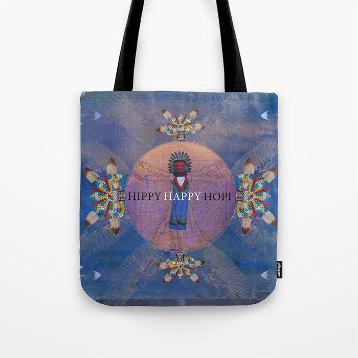 Hippi Happy Hopi Tote Bag