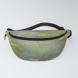 Claude Monet - Water Lily Pond Fanny Pack