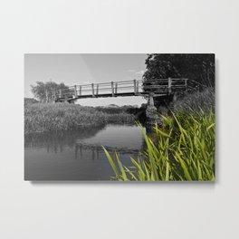 The River Roding Essex Metal Print