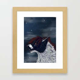 Star Lit Sky Framed Art Print