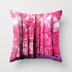 Dreaming away... altered photography Throw Pillow