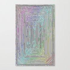 Free Rainbow Border Canvas Print