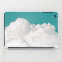 river iPad Cases featuring Dreaming Of Mountains by Tordis Kayma