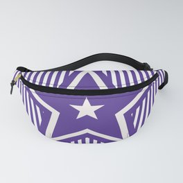 The Greatest Star - Purple Stripes Fanny Pack