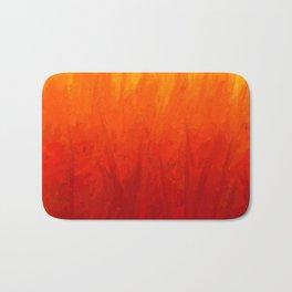 Fire and Liquid Sunshine Bath Mat